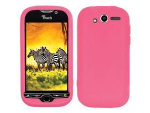 Amzer Silicone Skin Jelly Case - Baby Pink For HTC myTouch 4G
