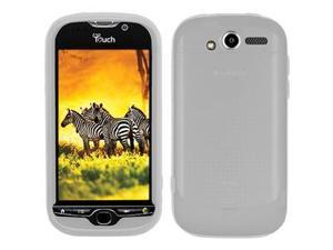 Amzer Silicone Skin Jelly Case - Transparent White For HTC myTouch 4G