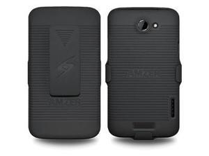 Amzer Shellster® - Black For HTC One X