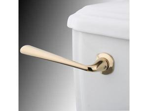 Kingston Brass KTZL2 Silver Sage Tank Lever - Polished Brass
