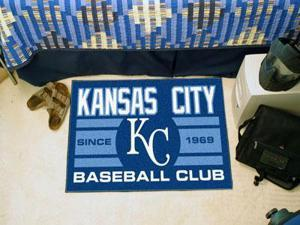 "Kansas City Royals Baseball Club Starter Rug 19""""x30"""""