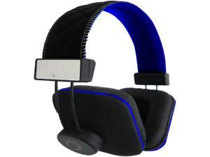 Stereo Headphones W Mic Blue