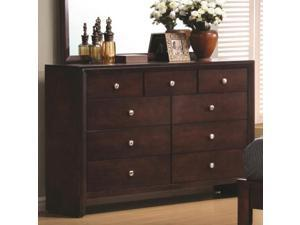 Serenity 9 Drawer Dresser by Coaster