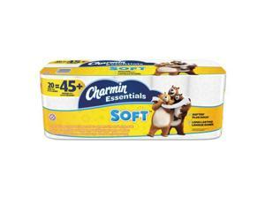 Essentials Soft Bathroom Tissue, 2-Ply, 4 x 3.92, 200/Roll, 20 Roll/Pack 96609