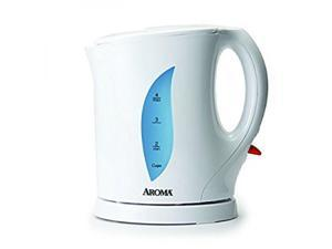 AROMA  AWK-103  White  1 Liter (4 Cup) Electric Water Kettle
