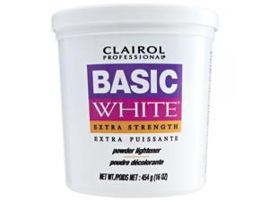 CLAIROL Professional Basic White Extra Strength Powder Lightener 1lb #47;454g