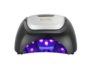 MelodySusie - 48W LED Nail Dryer - Nail Lamp Quick Curing  LED Gel Nail Polish Professionally and Safely as Manicure Beauty Salon - With Timer Setting 5s/20s/30s (Classic Black)