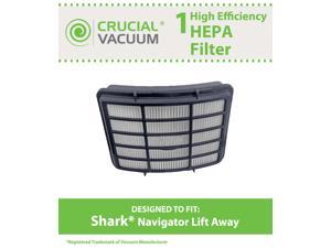 Shark NV351 HEPA Filter Designed To Fit Shark Navigator Lift-Away NV351, NV352, NV400&#59; Replaces Shark Part# XHF350&#59; Designed ...