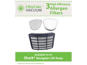 Shark Navigator Lift-Away Filter Kit Designed To Fit Shark NV351, NV352&#59; Includes 1 Hepa Filter Compare To Shark Part # XHF350 ...