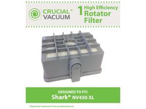 1 Shark NV450 & NV480 XL Rotator Filter&#59; Fits Shark NV450 XL Vacuums&#59; Compare to Part # XHF450&#59; Designed & Engineered by ...