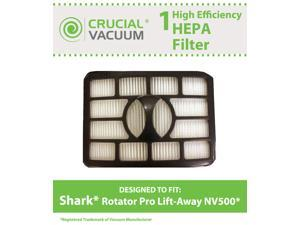 1 Shark NV500 HEPA Filter Fits Shark Rotator Pro Lift-Away, Compare to Part # XHF500
