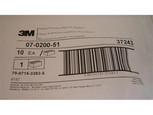 3M  Speedglas 07-0200-51 Outside Protection Lens Series 100 Helmets Pkg = 10