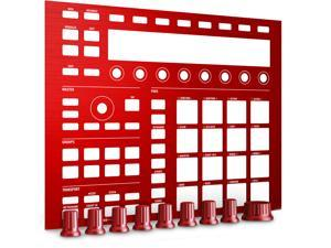 Native Instruments MASCHINE Custom Kit in Dragon Red (This is not a Maschine)