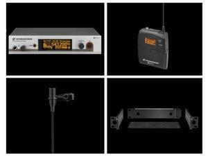 Sennheiser EW312G3A EW312 G3 Wireless Lavalier System (Factory Repack)