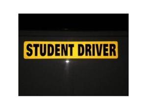 Student Driver Magnet REFLECTIVE Magnetic Vehicle Car Sign