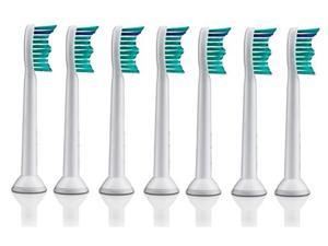 Sonicare HX6017 ProResults 7-Pack of Standard Size Replacement Brush Heads for  FlexCare & HealthyWhite