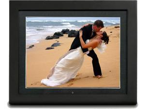"PixiModo Reflection 15"" Digital Picture Frame w/ 1 GB Internal Memory, Built-In Speakers, 1024 x 768 TFT Color LCD, Picture ..."