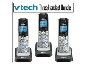 Vtech DS6101 DECT 6.0 1.9GHz 2-Line Cordless Expansion Handset Phone 3-Pack NEW!