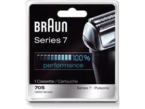 Braun Series 7 Combi 70S Cassette Replacement Pack (Formerly 9000 Pulsonic) For Braun Men's Shaver Models:
