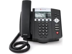 Polycom SoundPoint IP 450 Corded Voice Over IP Phone Up To 3-Lines w/ Up To 2 Calls Per Line