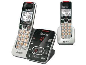 AT&T CRL32202  2 Handset Cordless Phone DECT 6.0 Technology (1.9GHz) W/ Speakerphone