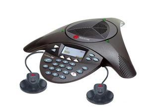 Polycom SoundStation 2W EX Wireless Conference Phone 2200-07800-160 with Ex Microphones 2200-07840-001