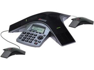 Polycom Soundstation Duo 2200-19000-001 Dual Mode Analog / VoIP Conference Phone with 2 EX Mics
