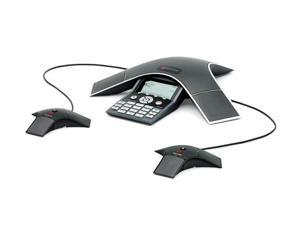 Polycom SoundStation IP 7000 Conference Phone 2230-40300-001 with 2 EX Mics (VoIP) 2200-40040-001