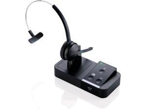 Jabra PRO 9450 Fixed Mic Mono Wireless Headset - Supports Wideband VoIP Phones PRO9450