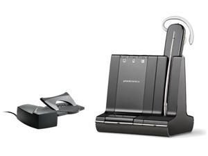 Plantronics Savi W740-M &  HL10 Lifter Bundle! Replaces Plantronics WO101 Microsoft® Optimize Mono Wireless Headset