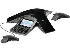 Polycom CX3000 IP Conference Phone (VOIP) for Microsoft Lync w/ 2 EX Mics 2200-15811-025 Includes: 1 Polycom CX3000 IP Conference ...