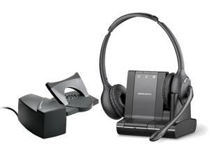 Plantronics Savi W720 Duo Wireless Headset With HL10 Lifter Replaces Plantronics WO350 83544-01 (8354401_