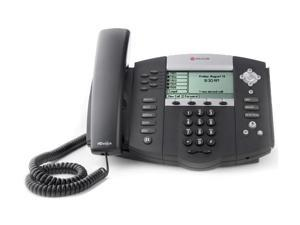 Polycom SoundPoint IP 650 2200-12651-025 Corded VoIP Phone ( 6 Line PoE ) 220012651025