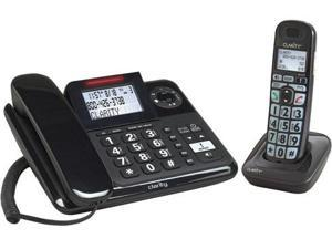 Clarity E814CC DECT 6.0 Corded / Cordless Amplified Phone Combo with Digital Answering System