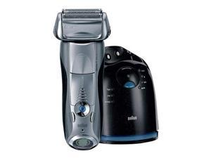 Braun 790cc-4 Series 7 Mens 3 Blade Foil Pulsonic  Rechargeable  Unique Clean & Renew Shaver System
