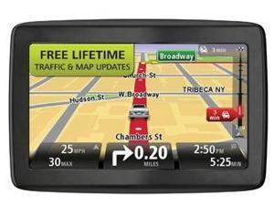 "TomTom VIA 1605TM 6"" Automotive GPS Vehicle Navigation System w/ Lifetime Traffic & Map Updates 1EN601900"