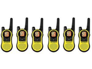 Motorola MH230TPR (6-Pack) Talkabout Two Way Radio / Walkie Talkie with 23-Mile Range - FRS/GMRS