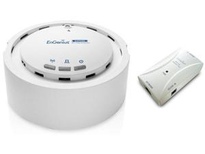 Engenius EAP 350 KIT Wireless Indoor Access Point / Repeater W/ Gigabit PoE Injector