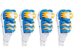 Oral-B CrossAction Power 4-pack of Replacement Brush Heads w/ Extra Soft Bristles