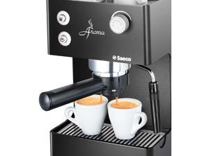 Saeco Aroma RI9373 950 Watt Direct buttons Black Metal Body Manual Espresso Machine