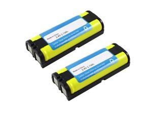 NEW Replacement Battery P105 for Panasonic Cordless Phone 5.8GHz 2-PACK