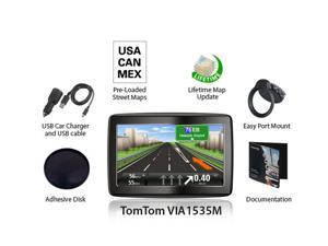 TomTom VIA 1535M 5 Inch Automotive GPS W/ Lifetime Maps