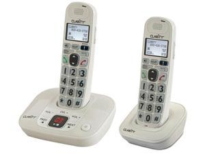 Clarity D712 Moderate Hearing Loss DECT 6.0 Cordless Phone W/ D702HS