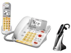 Uniden D3098 w/ Wireless Headset 1 Handset Cordless Phone w/ Wireless Headset