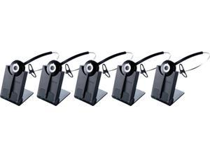 Jabra PRO 920 (5-Pack) Mono Wireless Headset with Increased Clarity / Enhanced Security