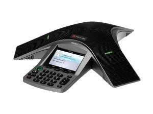"Polycom 2200-15810-025 CX3000 Corded Voice Over IP Conference Phone For Microsoft Lync with 3.5"" TFT Color Display"