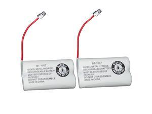 New Replacement Battery BT-1007 for Uniden DECT 6.0 Cordless Phone 2-PACK