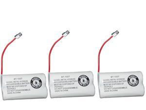 New Replacement Battery BT1007 BT-1007 for Uniden DECT 6.0 Cordless Phone 3-PACK
