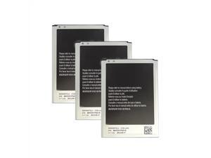 New Replacement Battery For Samsung GALAXY NOTE 2 Phone 3 Pack
