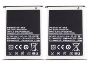 New Replacement Battery For Samsung N7000 Phone 2 Pack